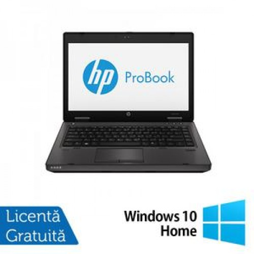 Laptop HP ProBook 6470b, Intel Core i5-3210M 2.5GHz, 4GB DDR3, 320GB SATA, DVD-RW + Windows 10 Home