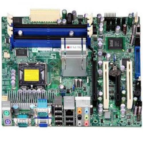 Placa de baza SUPER C2SBM-Q, DDR 2, SATA, Socket 775 + Shield