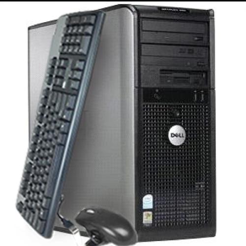 Calculator Dell Optiplex 740 Sh,Procesor Dual Core AMD Athlon 64 X2 4600+ 2.46 GHz,Memorie RAM 2Gb DDR2,HDD 80Gb,Unitate Optica DVD-ROM***