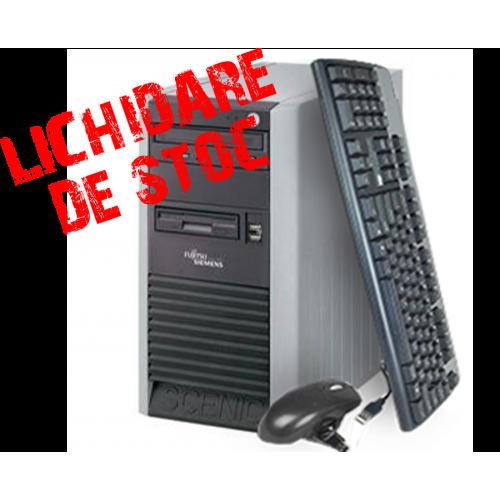 Calculator Fujitsu Scenic P3510 Tower,Procesor Intel Dual Core 2.8Ghz,  Memorie 1GB DDR, 80GB HDD,Unitate Optica DVD-ROM***