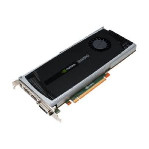 Placa Video nVidia Quadro 4000,2 Gb/ 256 bit, PCI-express,DVI, 2x Display Port