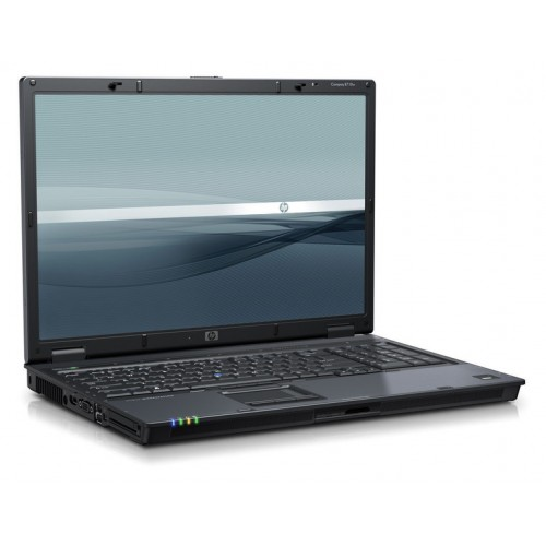 Laptop HP Compaq 8710P, Intel Core 2 Duo T7500, 2.20GHz, 4GB DDR2, 250GB SATA, DVD-ROM, 17 inch