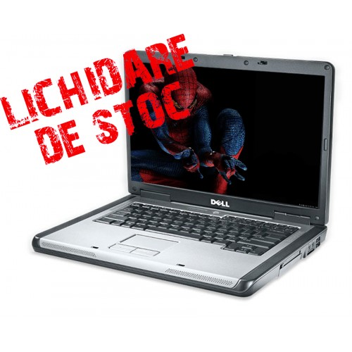 Laptop Dell Latitude 131L AMD Turion 2.0GHz ,Memorie Ram 1Gb, HDD 60GB, Unitate Optica DVD-RW,  14 Wide ***