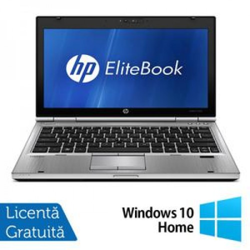 Laptop HP EliteBook 2560P, Intel Core i5-2410M 2.30GHz, 4GB DDR3, 320GB SATA, DVD-RW + Windows 10 Home