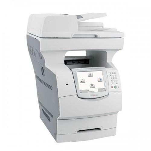 Imprimanta Sh Multifunctionala Lexmark X646e, Copiator, Fax, Scanner, USB, Monocrom, Duplex, Retea