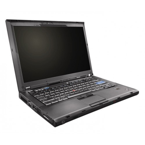 Laptop SH Lenovo ThinkPad T400, Core 2 Duo P8600 2.4Ghz, 2Gb DDR3, 160Gb, DVD-RW, 14 inch, camera WEB ***