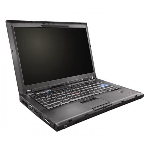 Laptop SH Lenovo ThinkPad T400, Core 2 Duo P8600 2.4Ghz, 2Gb DDR3, 160Gb, DVD-RW, 14 inch, camera WEB ***