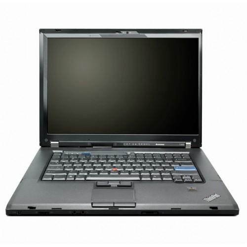 Laptop Ieftin Lenovo T500, P8600 2.4Ghz, 2Gb DDR3, 160Gb, Wi-Fi, DVD-RW, 15.4 Inci