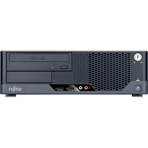 Calculator refurbished Fujitsu E5731 Dual Core E5400 2.70GHz 2GB 160 HDD DVD-ROM Desktop Soft Preinstalat Windows 10 Home