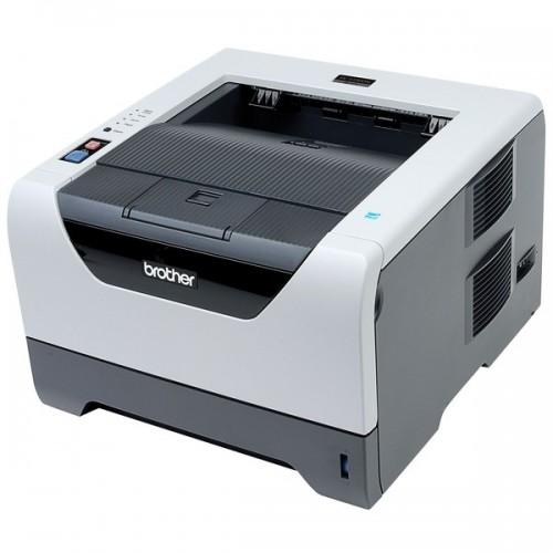 Imprimanta Laser Monocrom Brother HL-5350DN, Duplex, Retea, USB, 1200 x 1200 dpi, Cartus si Unitate Drum Noi