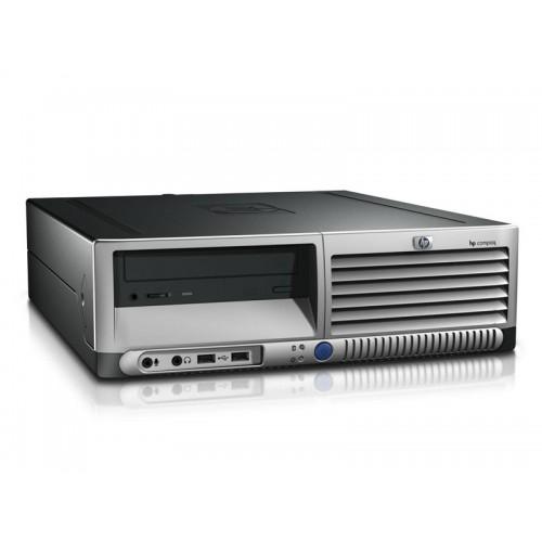 PC SH HP DC7600 SFF, Intel Celeron 2.60GHz, 1Gb DDR2, 40GB Sata, CD-ROM