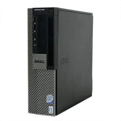 Dell OptiPlex 960 SFF, Intel Core 2 Duo E8400, 3.0Ghz, 3Gb DDR2, 80Gb HDD, DVD-ROM