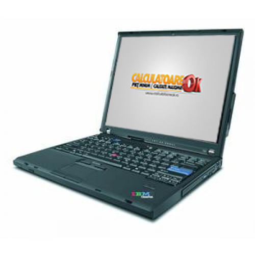 Notebook Lenovo T60, Core 2 Duo T2400 1.83Ghz, 2Gb DDR2, 80Gb, DVD-ROM, 14 inci LCD, Wi-Fi