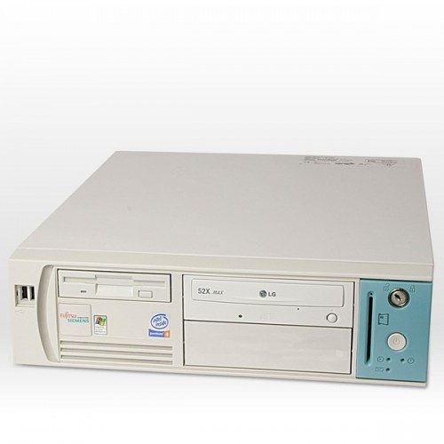 PC SH Fujitsu Scenic D, Pentium 4, 1.5ghz, 512Mb, 40Gb, CD-ROM