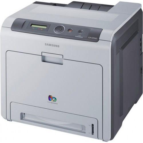 Imprimante Laser Color Samsung CLP-670ND, 25 ppm, Duplex, Retea, USB 2.0