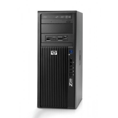 Statie Grafica HP Z200, Intel Core i5-660, 3.33Ghz, 4Gb DDR3, 250Gb HDD, DVD-ROM
