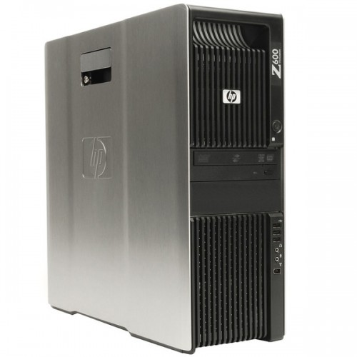 Statie Grafica HP Z600, Intel Xeon Quad Core E5506 2.13GHz 4Mb Cache, 8Gb DDR3 ECC, 500GB SATA, DVD-ROM
