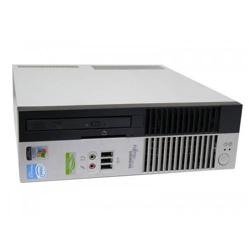 PC Sh Fujitsu Siemens C5910 USFF, Intel Pentium Dual Core E2140, 1.6Ghz, 2Gb DDR2, 80Gb HDD, DVD-RW