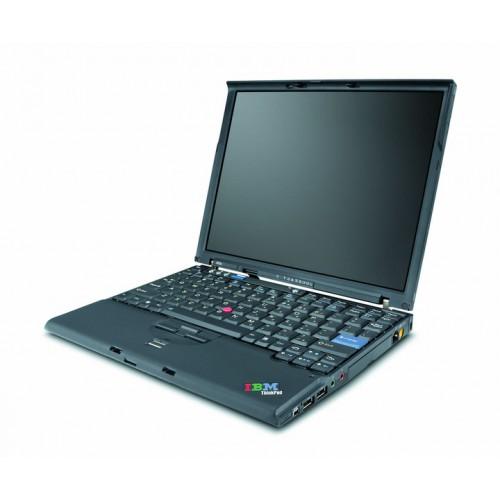 Notebook Lenovo ThinkPad X60, Intel Core Duo T2400 1.83Ghz, 2Gb DDR3, 80Gb, 12.1 inch, BATERIE NOUA