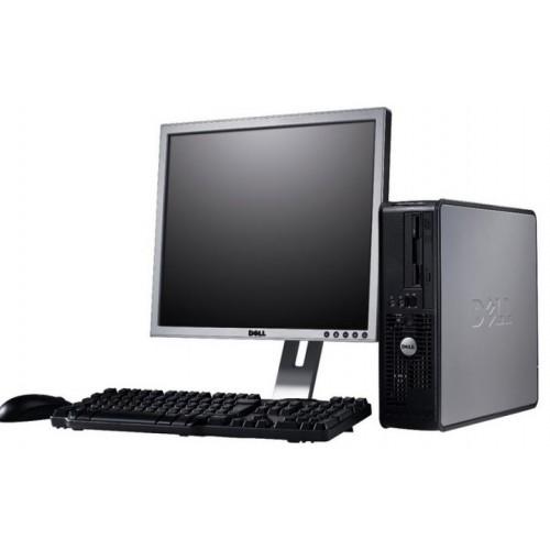 Calculator Dell Optiplex 755 SFF, Intel Core 2 Duo E6750, 2.66Ghz, 2Gb DDR2, 160Gb HDD, DVD-RW