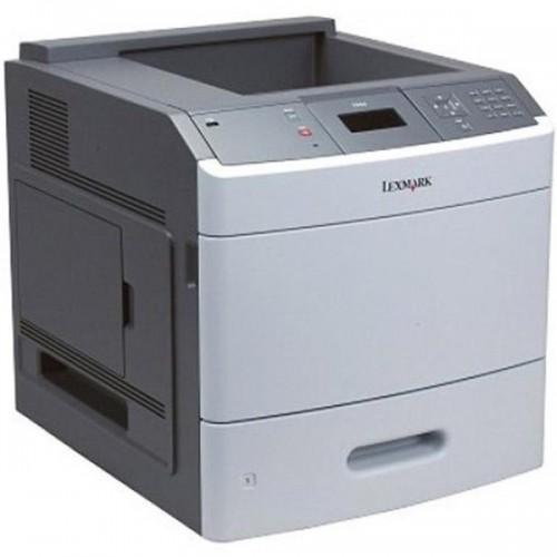 Imprimanta Sh laser monocrom Lexmark T654DN, Duplex, Retea, 53ppm
