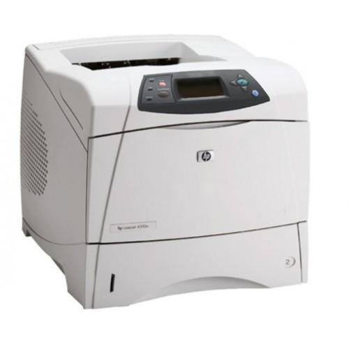 Imprimanta Sh laser monocrom HP 4300N, A4, Retea, 45 ppm