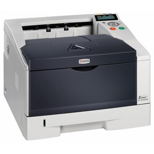 Imprimanta Sh laser monocrom KYOCERA 1350dn, Duplex, Retea, USB, 30ppm