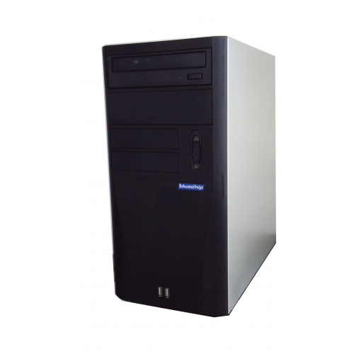 PC Bluechip Intel Celeron E1400 2 Ghz, 3Gb DDR2, 250Gb, DVD-RW