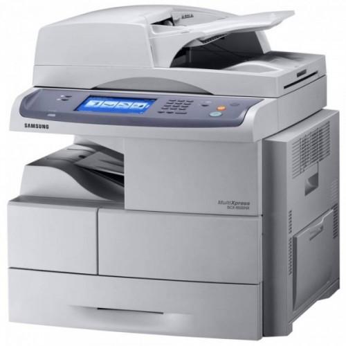 Multifunctionala Sh laser monocrom SAMSUNG SCX 6555nx, Imprimanta, Copiator, Scanner, Fax, Duplex, Retea 53 ppm