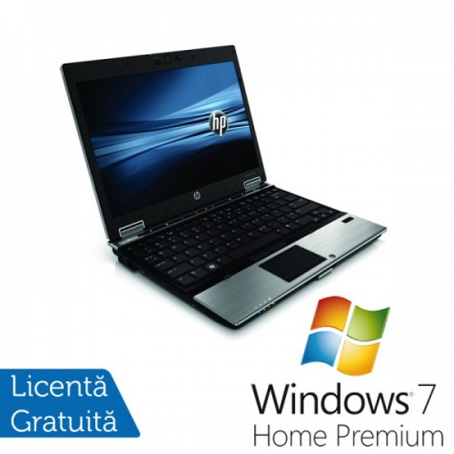 Notebook HP EliteBook 2540p, Intel Core i7 640LM, 2.13GHz, 4Gb DDR3, 160Gb SATA, DVD-RW + Windows 7 Home Premium