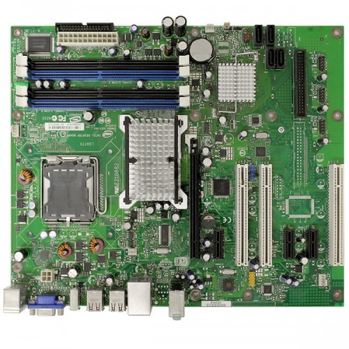 Placa de baza Intel DG33FB + Procesor Intel Dual Core E5300 2.6Ghz, Socket LGA775 + Cooler