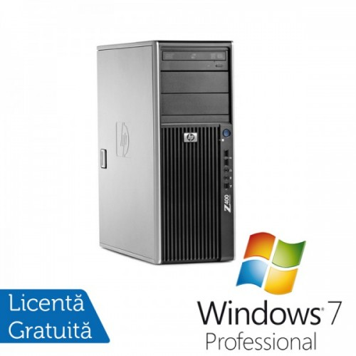 PC HP Z400, Intel Xeon Quad Core W3520, 2.6Ghz, 16Gb DDR3 ECC, 1Tb SATA + 128Gb SSD, Video GeForce GTX 950 2GB DDR5 + Windows 7 Prof