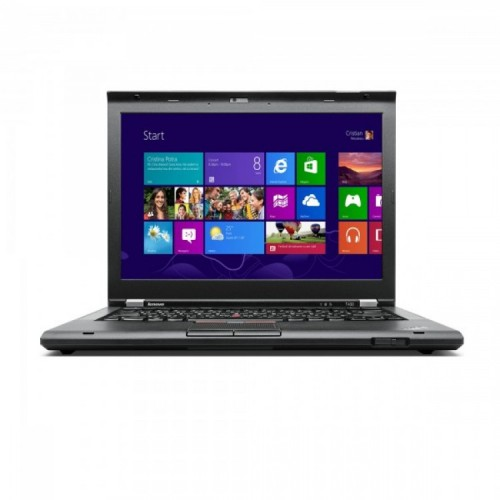 Laptop Refurbished LENOVO ThinkPad T430s, Intel Core i5-3320M 2.6GHz, 8GB DDR3, 120GB SSD + Windows 10 Pro