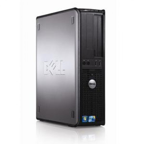 PC Dell Optiplex 380 Desktop, Intel Core2 Quad Q9400, 2.66Ghz, 4Gb DDR3, 250Gb HDD, DVD-ROM