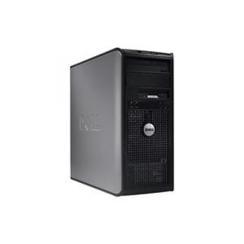 PC Dell Gx330 Tower, Intel Pentium Dual Core E2160 1.8GHz, 2Gb DDR2, 200Gb SATA, DVD-ROM