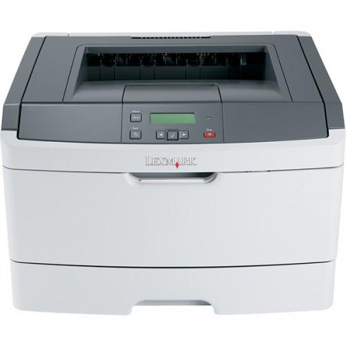 Imprimante Laser Lexmark E360d, Duplex, Retea, laser monocrom, 38 ppm + Cartus 3.5K