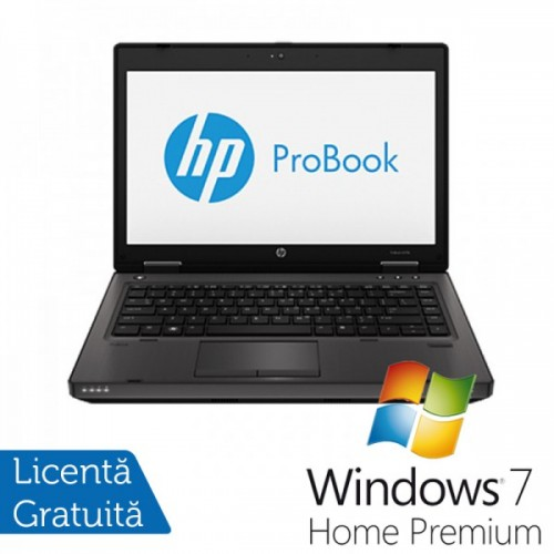 Laptop HP ProBook 6470b, Intel Core i5-3210M Gen. a 2-a 2.5GHz, 4Gb DDR3, 500Gb HDD, DVD-RW, Wi-Fi, 14 Inch + Windows 7 Home Premium