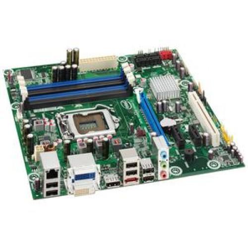 Placa de baza INTEL DQ57TM, DDR 3, SATA, Socket 1156 + Shield + Procesor Intel Core i5-650 3.20GHz