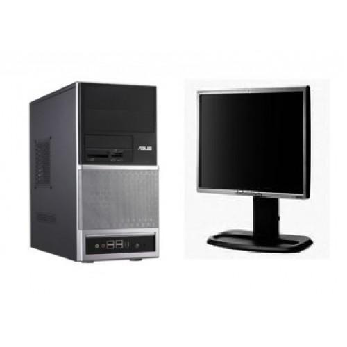 PC ASUS V3 , Dual Core AMD 64 X2 4800+ , 2,40Ghz , 2Gb , 80Gb , DVD - ROM cu Monitor LCD ***