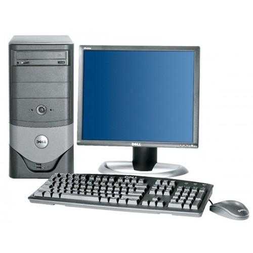 PC DELL OptiPlex 170L, Tower, Intel Pentium 4 , 3.00GHz, 2Gb DDR, 40GB HDD, DVD-ROM cu Monitor LCD ***