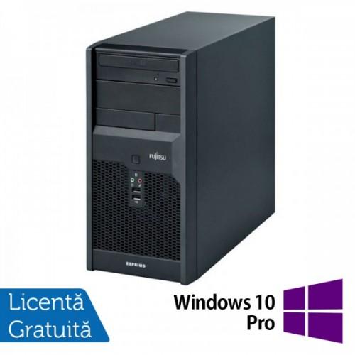 Calculatoare Fujitsu P3521, Intel Core 2 Duo E6600, 2,4GHz, 4Gb DDR3, 320Gb SATA, DVD-RW + Windows 10 PRO