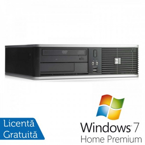 HP DC7900 SFF, Intel Core 2 Quad Q9400 2.66Ghz, 4Gb DDR2, 250Gb HDD, DVD-RW + Windows 7 Home Premium