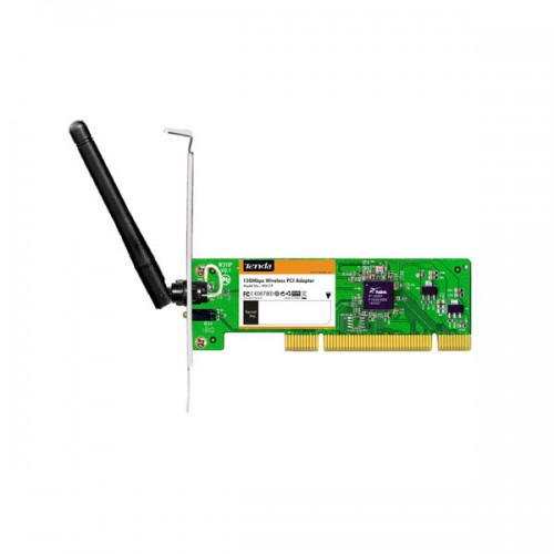 Placa retea Wi-Fi Tenda Noua W311P Wireless N150, PCI, 150Mbps, Compatibila cu Windows, Linux, Mac OS