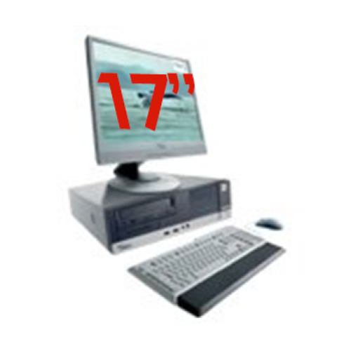 Super Pachet PC SH Fujitsu Siemens E5625, AMD Athlon 64 x 2 Dual Core 4400+, 2.3Ghz,Memorie RAM 1Gb, 80Gb, DVD-ROM + Monitor de 17 Inch LCD***