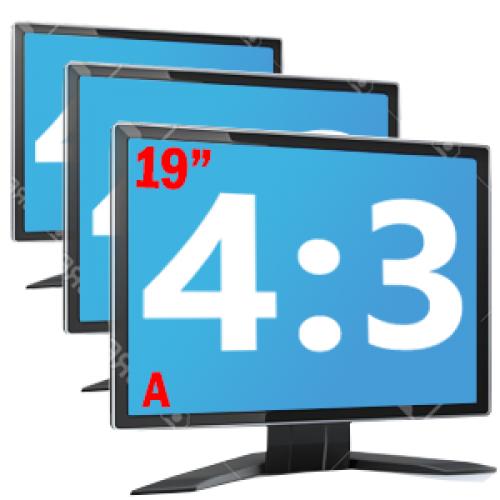 Monitoare LCD de 19 inch Grad A Diverse modele Samsung, DELL, Lenovo, Fujitsu, HP, NEC