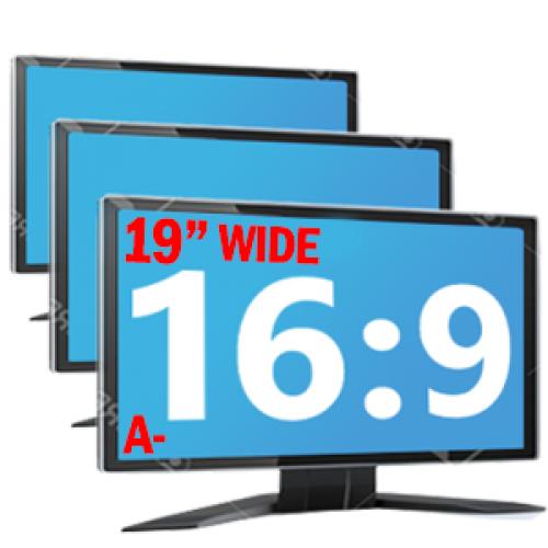 Monitoare LCD de 19 inch Wide Grad A- Diverse modele Samsung, DELL, Lenovo, Fujitsu, HP, NEC
