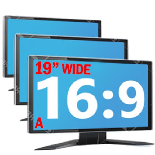 Monitoare LCD de 19 inch Wide Grad A Diverse modele Samsung, DELL, Lenovo, Fujitsu, HP, NEC