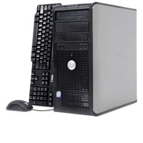 PC Tower Dell Optiplex 755, Intel Core 2 Duo E6550 2.33GHz, 2Gb DDR2, 160Gb SATA, DVD-RW