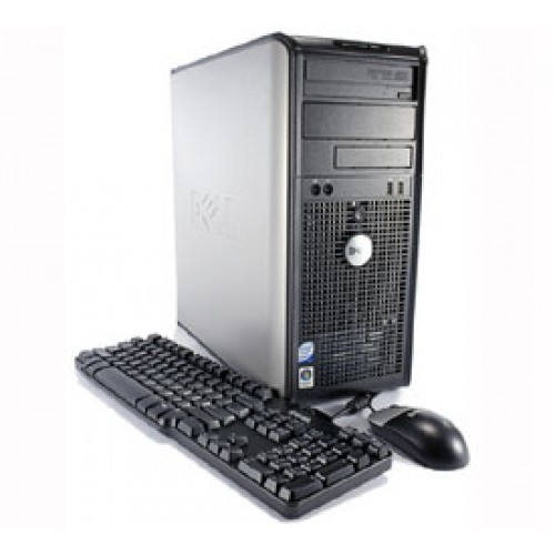 Calculator Tower Dell Optiplex 360 Core2Duo E7500  2.93Ghz 2GbDDR2, 250Gb DVD-RW
