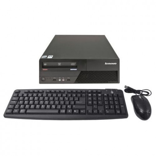 PC Lenovo Thinkcentre M58 Desktop, Intel Core2Duo E7400, 2.8Ghz, 2Gb DDR2, 250Gb HDD, DVD-RW